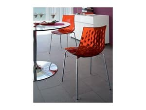 Picture of ICE CS/1038, dining chairs with plastic seat