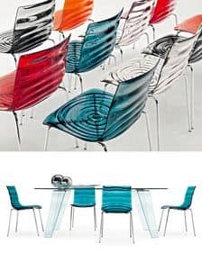 Picture of L'EAU CS/1273, minimal metal chair