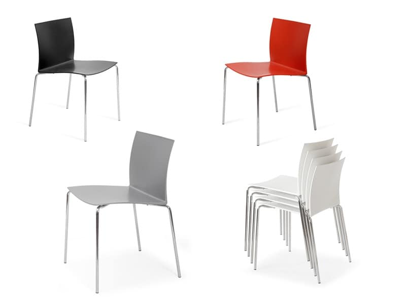 Categories index seats chairs modern metal plastic without armrests