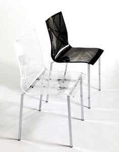 Picture of Star, chairs with shell in plastic material