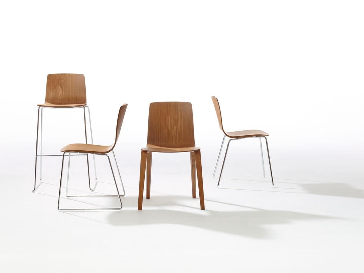 Aava Formal Wooden Chair