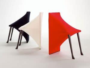SATINE, Chair with original shape