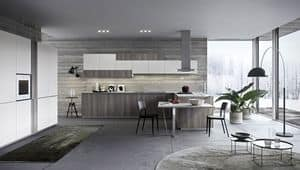 Picture of ONE_K02_LINEAR, hi-tech-kitchen