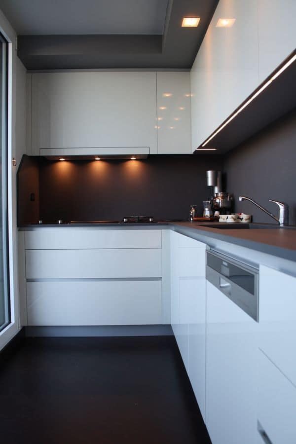 SLIM, Cunina design in high-quality materials, stylish finishes