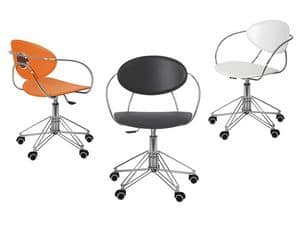 Picture of Elettra, office chair with castors