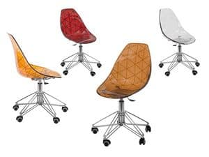 Picture of Glamour Office, office chairs with castors