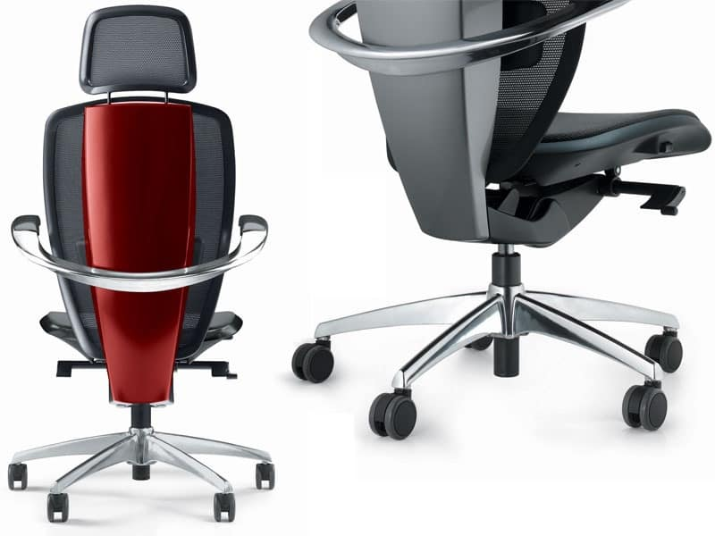 xten ergonomic office chair designed by pininfarina high technology