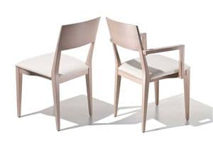 Picture of Diana stackable chair 7740, wooden chairs