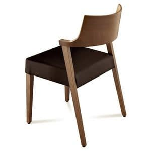Picture of Lirica, chair with padded seat