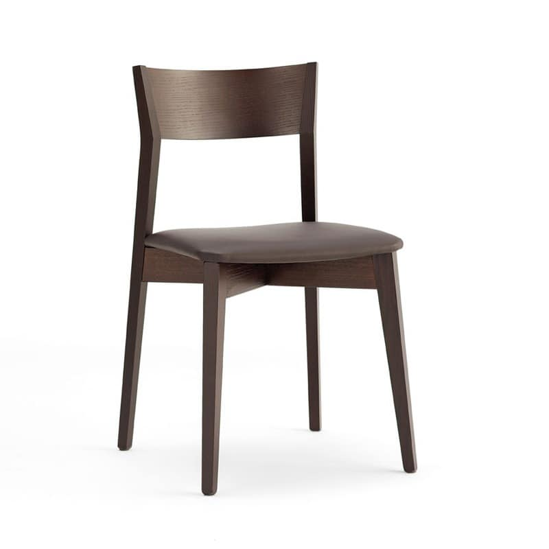 Simple dining chairs simple and modern furniture walnut for Simple dining chair designs