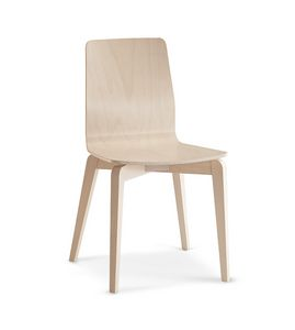 1127, Beech chair ideal for contract and domestic use