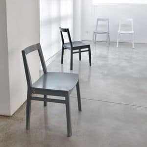Picture of ART. 255 TWIST, simply shaped chair