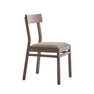 MP439C, Wooden chair with simple design