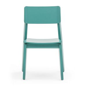 Offset 02811, Chair in solid wood, in modern style