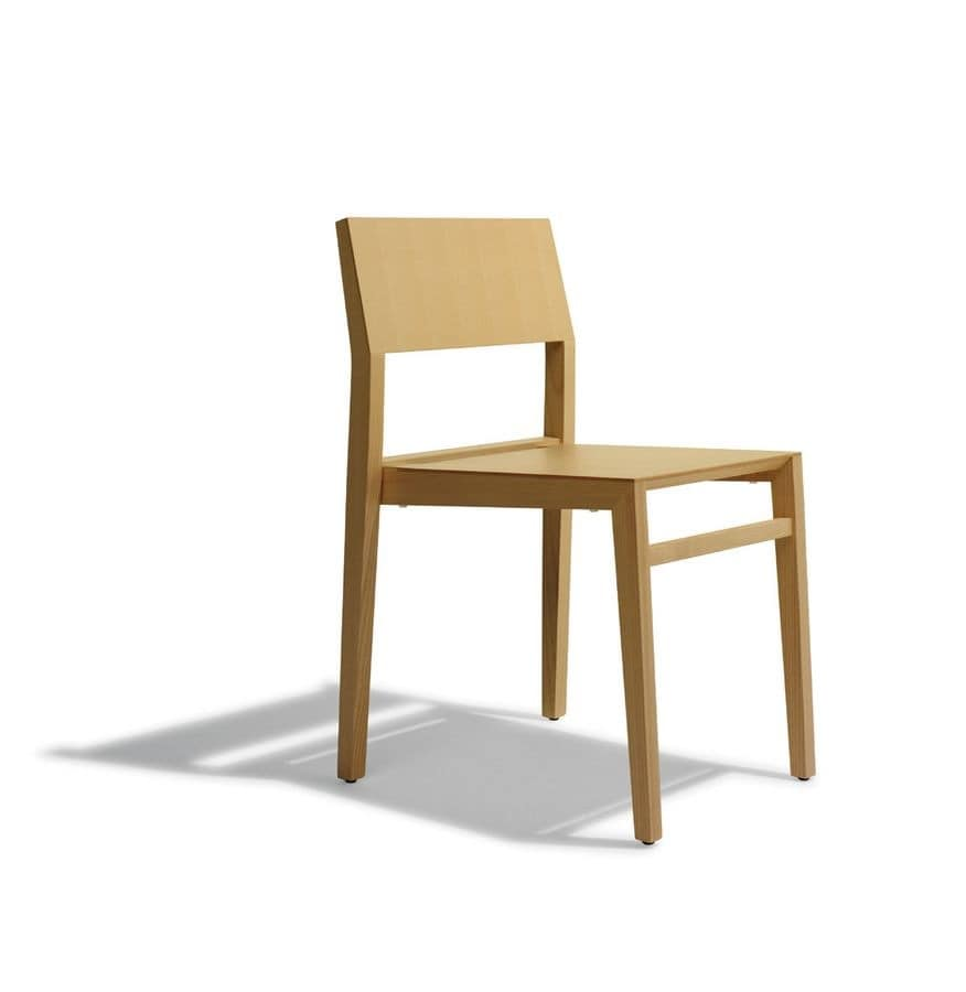 Stackable Modern Ash Chair For Pastry IDFdesign