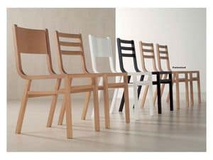 Picture of SLIM, wooden chair