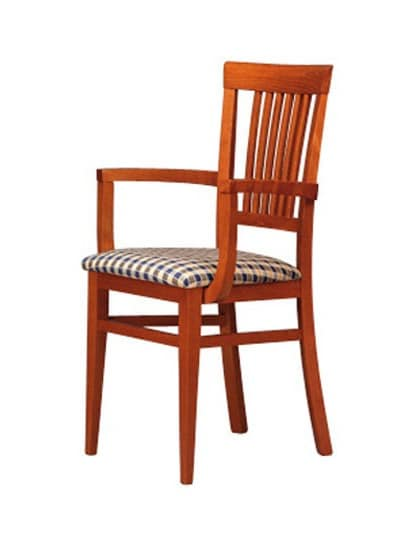 316 P, Wooden chair, simple style, for restaurant