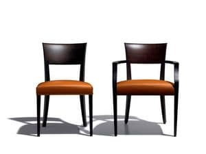Picture of 1730 chair with armrests 7240, wooden chairs