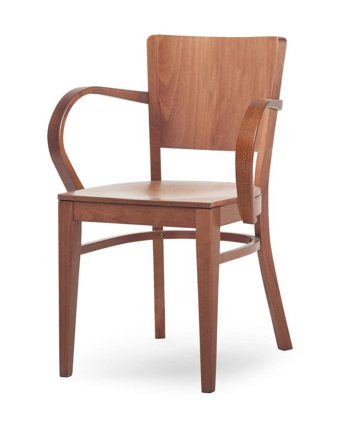 Oregon/P, Armachair entirely made of wood