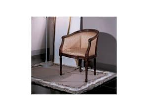 Picture of Louis XVI 0162P, upholstered armchair