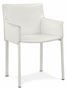 Picture of Bilbao small armchair 10.0122, padded chair with armrests