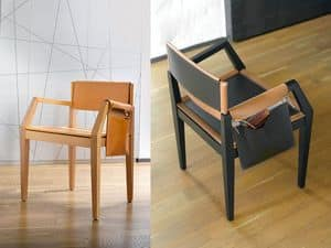 Picture of HER, modern shaped chair with arms