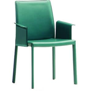 Nuvola PBL, Armchair covered in leather or ecoleather