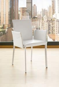 Picture of TIME P, dining chair with armrests