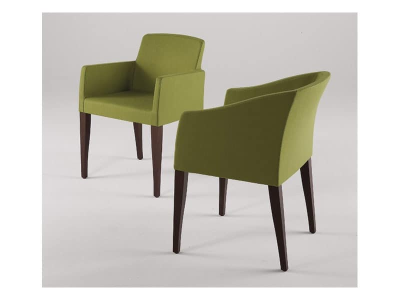 Amy P Lora P Padded Chairs With Arms Bar Idfdesign