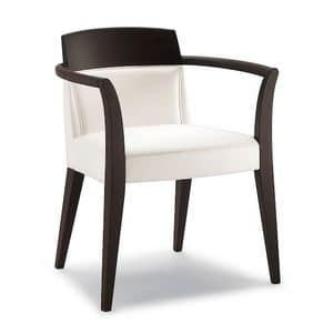 Picture of DEJAVU armchair 8631A, linear chair with arms