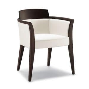 Picture of DEJAVU armchair 8632A, padded chairs with arms