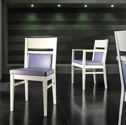 EASY armchair 8600A, Chair in wood Bar