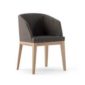Elly P 10033, Modern small armchair for hotels