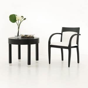 Picture of JADE STACKING chair 8053A, linear chairs with arms