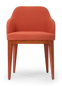 Kate soft ARMS, Armchair with an enveloping shape