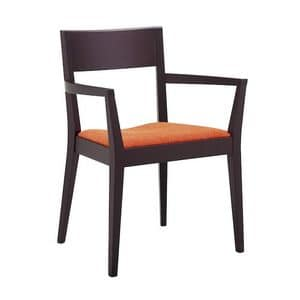 Picture of KISS A, linear chair with arms