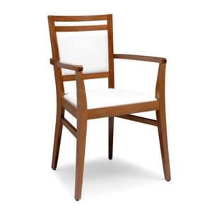 Picture of SURI 472 CP, linear chair with arms