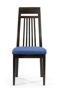 Roby B, Dining chair with high backrest