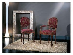 Picture of Louis Philippe 0205S, chair with padded backrest