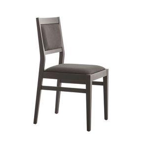 MP473D, Upholstered chair for restaurant