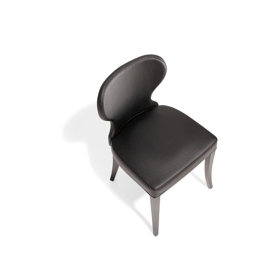 VANITY, Wooden padded chair, for dining room
