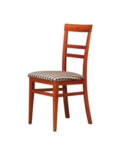 314, Chair with horizontal pattern back, for living room