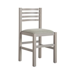 RP404Q, Chair in beech wood with padded seat
