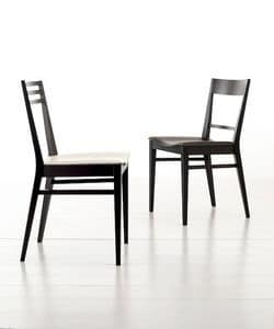 Picture of SHAPE 2, dining chair with padded seat