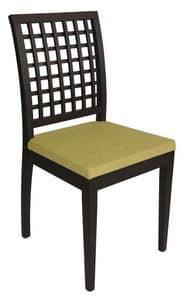 Us Nest, Modern chair for restaurant, wooden chair for pizzeria
