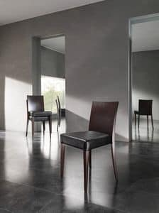 Picture of MATISSE, modern wooden dining chair