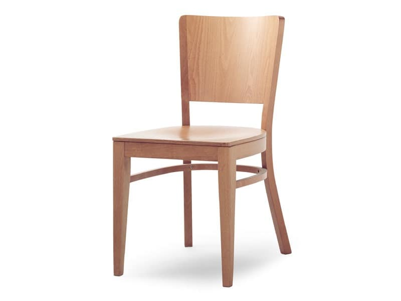 Oregon/S, Chair entirely made of wood