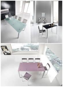 Picture of Auriga 110, glass top tables