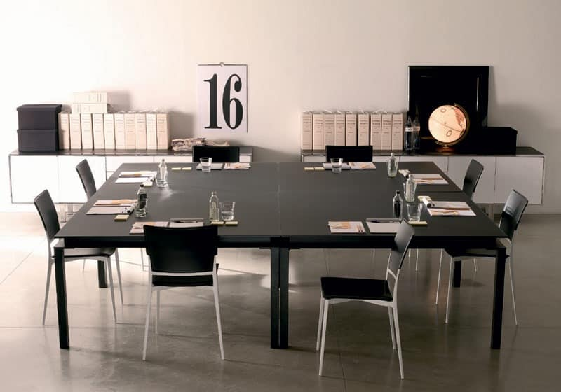 Tables tables modern wood and glass idf - Hotel dining tables ...