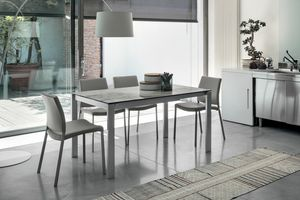 Picture of SOLE 140 TA180, linear-tables-with-glass-top